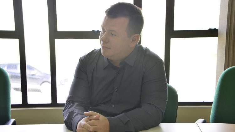Na foto, o novo professor da Escola de Engenheria, José Henrique Alano.