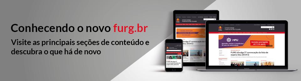 Conhecendo o novo FURG.br