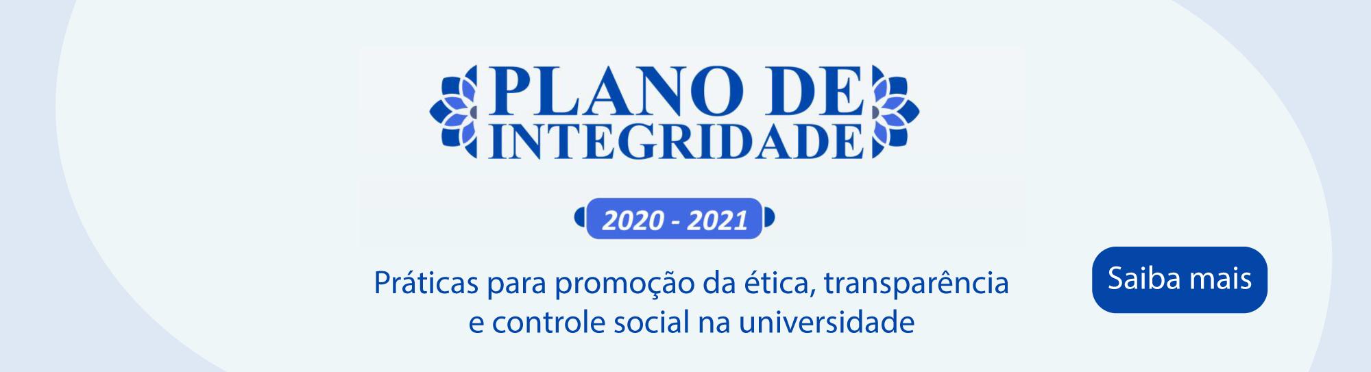 Plano de Integridade