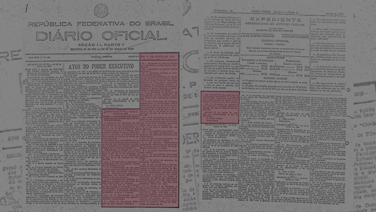 On August 20, the decree-law number 774 was signed, which authorized the operation of the University of Rio Grande by the unification of city's first four higher education units. On October 21, through decree number 65.462, the University's Foundation Bylaws was composed, as an entity which maintains FURG.